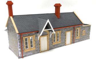 Fordhampton Station Plastic Kit