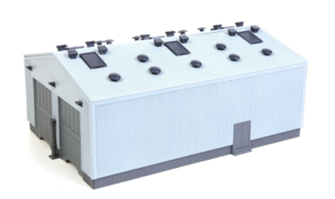 Fordhampton Locomotive Depot Plastic Kit