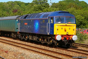 Class 47 815 'Lost Boys 68-88' Rail Operations Group