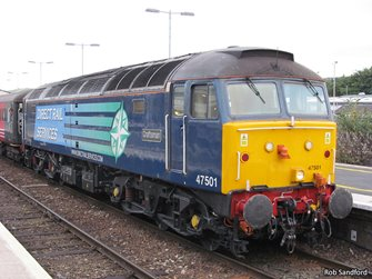 Class 47 501 'Craftsman' Direct Rail Services