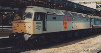 Class 47 600 'Dewi Saint/Saint David' Railfreight Distribution