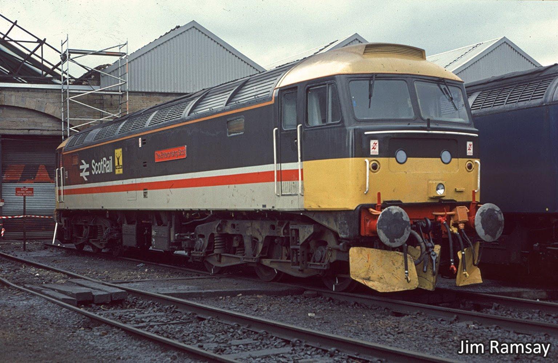 Class 47 492 'The Enterprising Scot' InterCity Scotrail