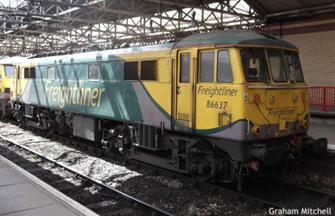 GM4240301 Class 86 637 Freightliner Powerhaul