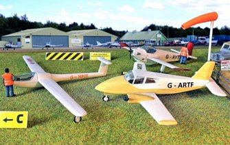 Fordhampton Airfield Planes & Gliders Kit