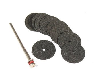 Slitting Discs (Pack of 10) & Mandrel
