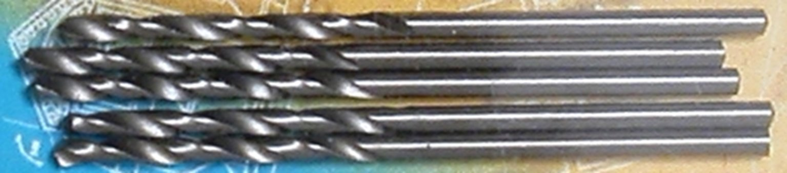 HSS 1.8mm Drill Bits (Pack of 5)
