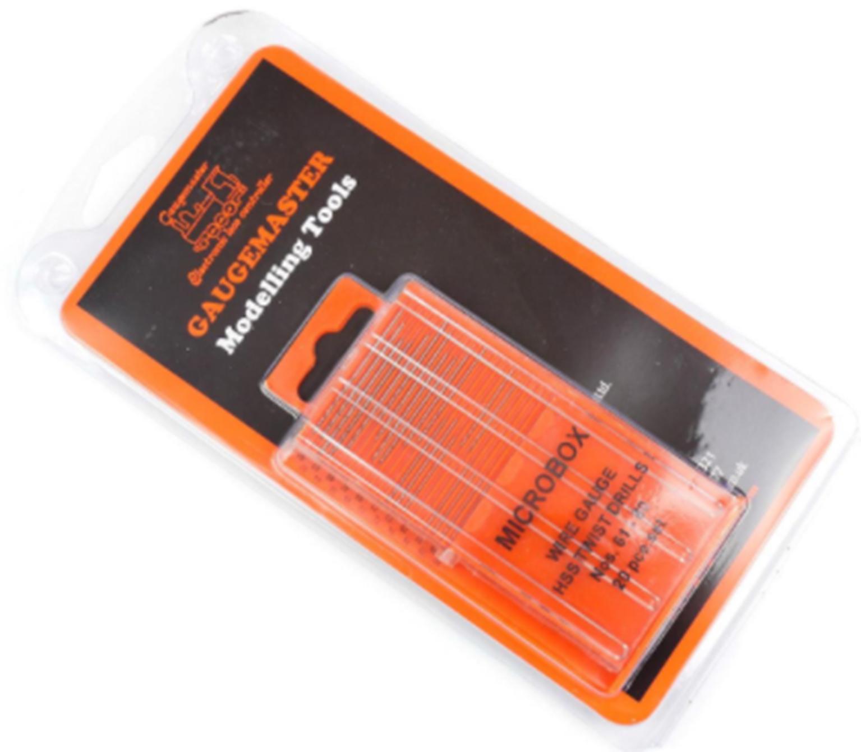 Microbox HSS Twist Drill Bit Set 61 - 80 Gauge