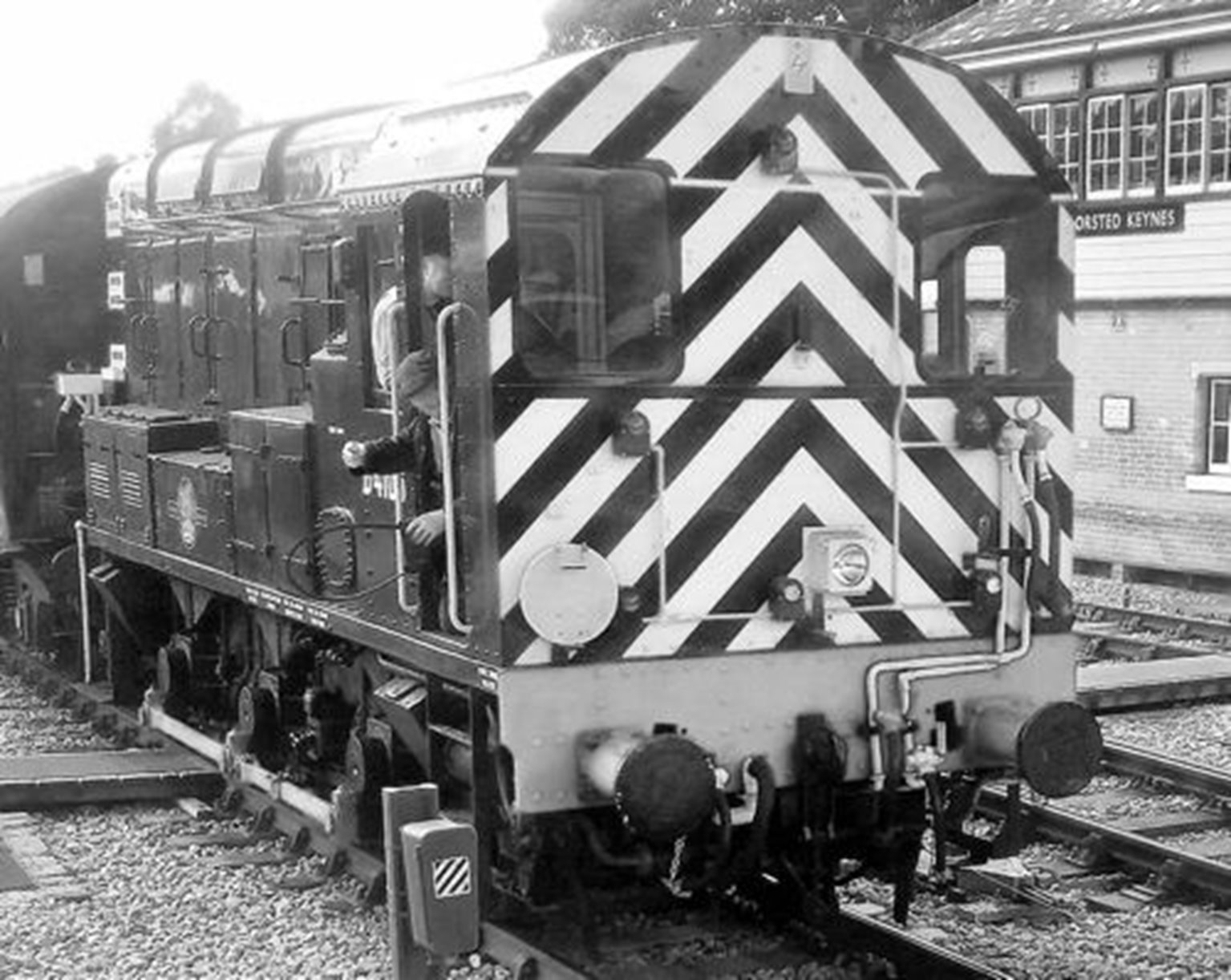 Class 09 012 'Dick Hardy' Engineers Grey Diesel Shunter Locomotive
