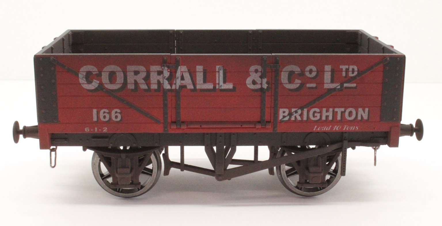5 Plank Wagon Corrall & Co Ltd 166 Brighton - Weathered