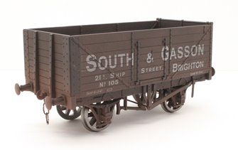 7 Plank Wagon South & Gasson 105 Brighton - Weathered