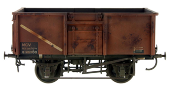 16t Mineral Wagon BR Bauxite 68922 Weathered