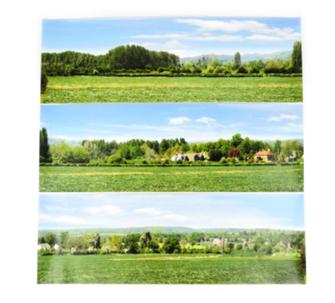 Small Backscene - Open Field (1372 x 152mm)