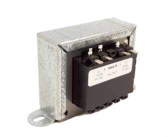 Uncased Transformer: Output 2*12v AC 1.25A