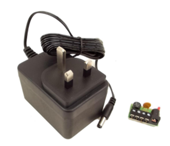 Wall Mounted Transformer - 1x 16v AC or 12v DC @ 1.1A