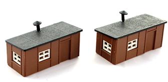 Station Yard Huts Kit