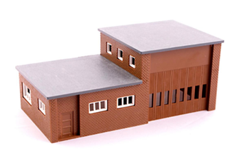 Modern Fire Station Kit
