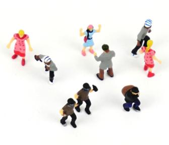Crime Scenes (9) Figure Set
