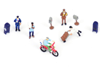 Making The Delivery (7) And Accessories Figure Set