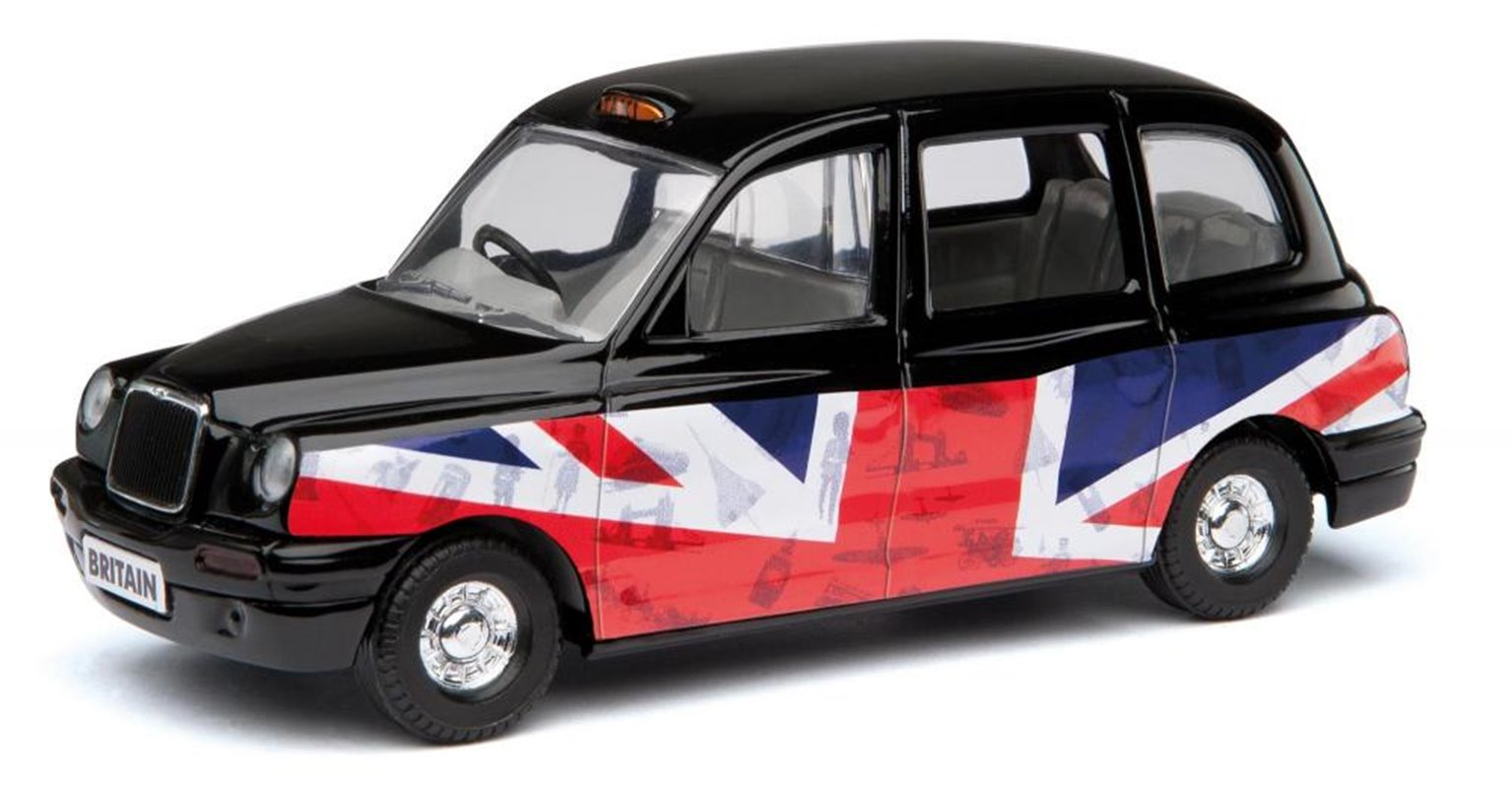 Corgi DieCast Black Taxi GS85909 Best of British London