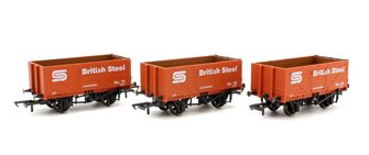 Golden Valley GV6013 3 pack BSC 7 plank open mineral wagon