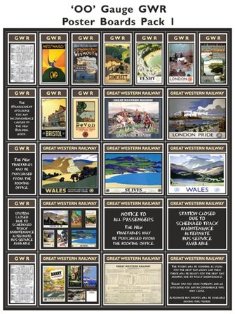 GWR Poster Boards Pack 1