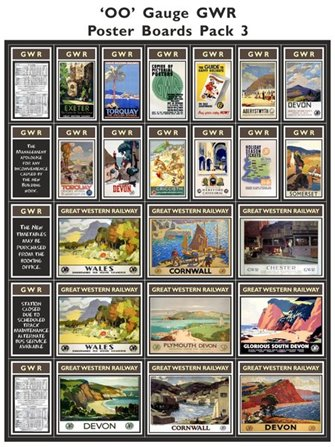 GWR Poster Boards Pack 3