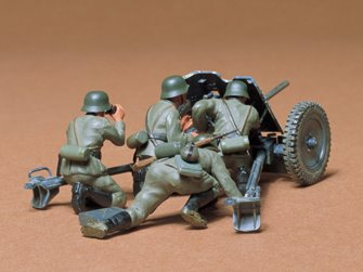 1/35 Military Miniature Series no.35 German 37mm Anti-Tank Gun