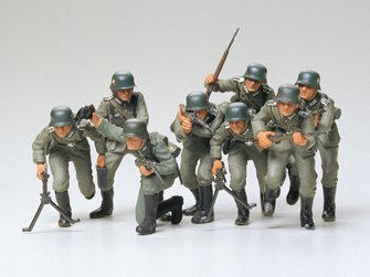 1/35 Military Miniature Series no.30 German Assault Troops