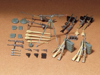 1/35 Military Miniature Series no.111 German Infantry Weapon Set