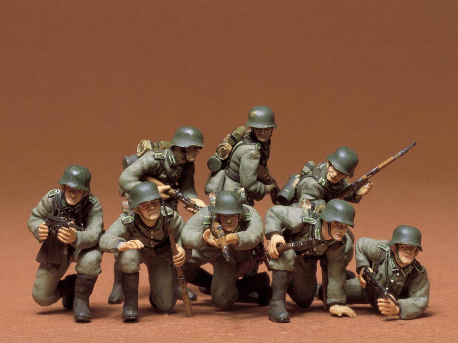 1/35 Military Miniature Series no.61 German Panzer Grenadiers