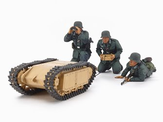 1/35 Military Miniature Series No.357 German Assault Pioneer Team & Goliath Set