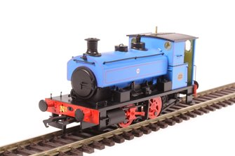 "Andrew Barclay 0-4-0ST 14"" 2134 'No.3' in Fina lined blue"