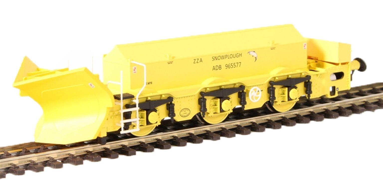 Beilhack snow plough (ex Class 40) ZZA ADB965577 in BR yellow