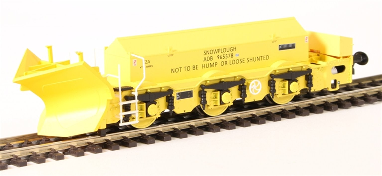 Beilhack snow plough (ex Class 40) ZZA ADB965578 in BR yellow
