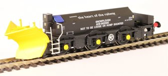 Beilhack snow plough (ex Class 40) ZZA ADB965580 in Railtrack Black