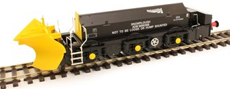 Beilhack snow plough (ex Class 45) ZZAADB966098 in Network Rail black
