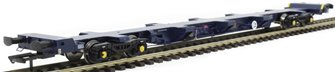 FEA-S intermodal wagon in GBRf blue