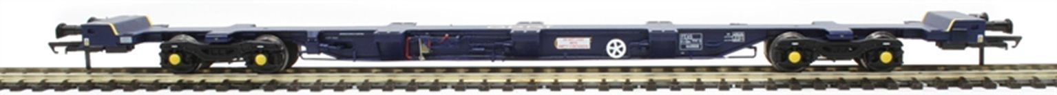 FEA-S intermodal wagon in GBRf blue
