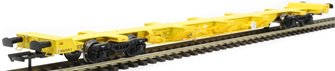FEA-S intermodal wagon in TransPlant yellow