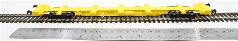 FEA-S intermodal wagon in TransPlant yellow