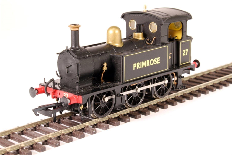 "SECR P Class 0-6-0T 27 ""Primrose"" in Bluebell Railway lined black (1960s)"