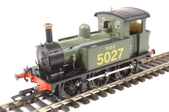 SECR P Class 0-6-0T 5027 in ROD green