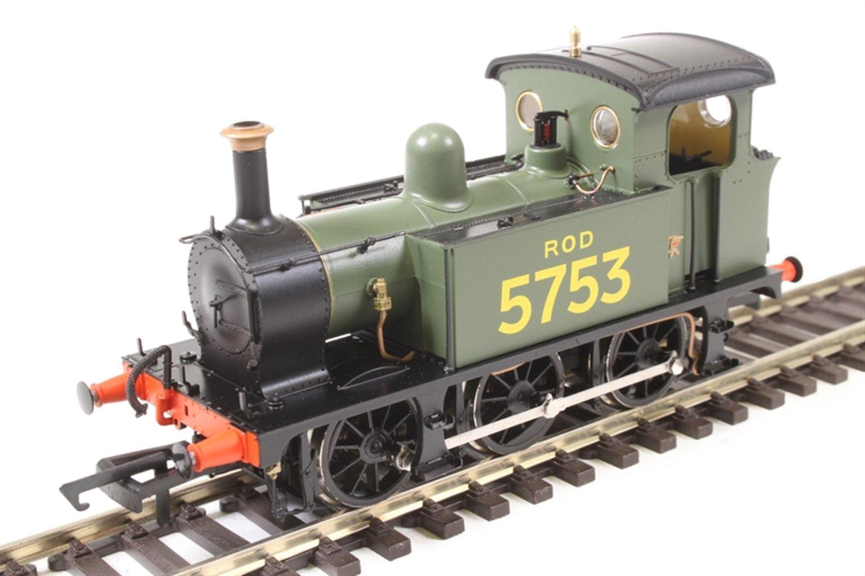SECR P Class 0-6-0T 5753 in ROD green
