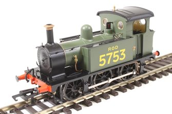 SECR P Class 0-6-0T 5753 in ROD green