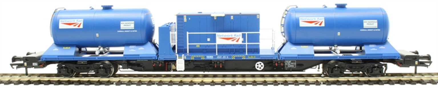 Rail Head Treatment Train 'Water Jet' with 2 wagons and water jetting modules