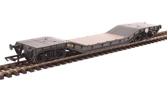 Warwell wagon 50t with diamond frame bogies MODA95534 in MOD 1970s olive
