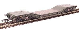 Warwell wagon 50t with Gloucester GPS bogies MODA95537 in MOD 1990s olive - weathered