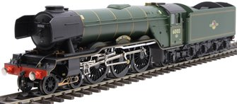 "Class A3 4-6-2 60103 ""Flying Scotsman"" in BR green with late crest and unstreamlined corridor tender"