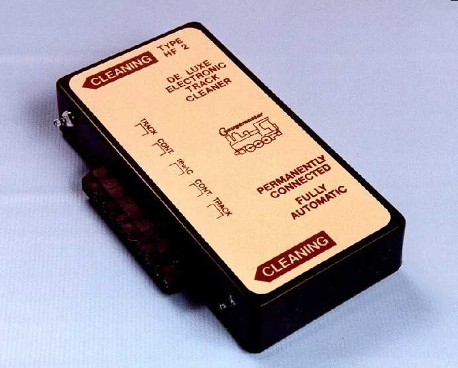 High Frequency Electronic Track Cleaner - Double Track