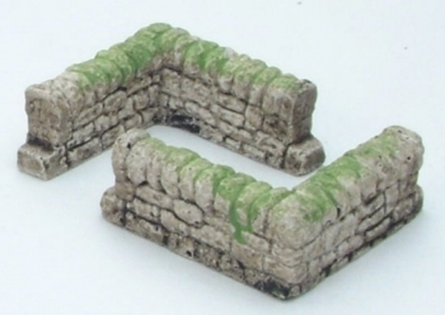 Dry Stone Walls corner sections